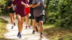 group-runners-dirt-trail-running-group-high-school-runners-training-together-dirt-path-sunny-afternoon-134158353